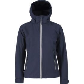 Tenson Ethel Jacket Juniors Dark Blue